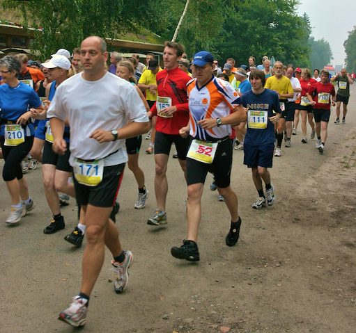 Moormarathon am 24. August